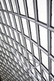 Metal indoor ceiling Royalty Free Stock Image