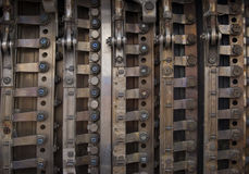 Metal industrial background Stock Photo