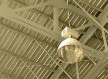 Metal industrial lamp Stock Photo