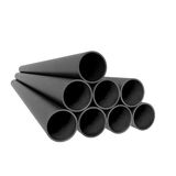 Metal industrial tubes Royalty Free Stock Photos