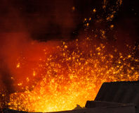 Metal Industry Stock Image