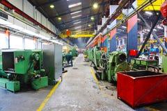 Metal industy factory indoor Stock Photography