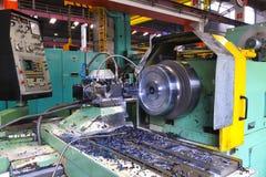 Metal industy factory indoor Stock Photos