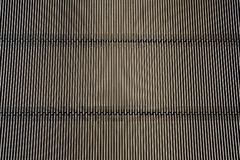 Metal iron background (Detail from escalator - texture) Stock Images