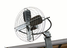 Metal iron fan Stock Images