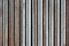 Metal iron folding vertical rod for texture background Stock Image