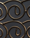 Metal ironwork texture background Stock Images