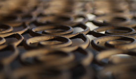 Metal ironwork texture background rusty Stock Images
