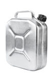 Metal jerrycan Stock Photography