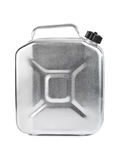Metal jerrycan Royalty Free Stock Photography