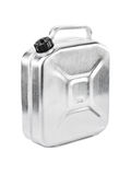 Metal jerrycan Royalty Free Stock Images