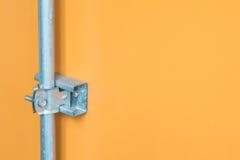 Metal joint detail stock photos