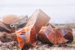 Metal junk Stock Photography