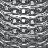 Metal Ketten Stockbild