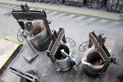 Metal kettle Stock Photos