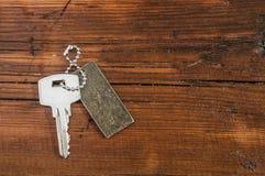 Metal key chain Stock Image