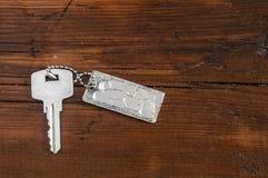 Metal key chain Royalty Free Stock Photo