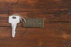 Metal key chain Stock Photography