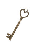 Metal key Stock Photography
