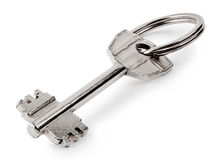 Metal key Stock Photo
