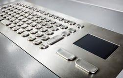 Metal keyboard Stock Images