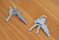 Metal keys Stock Photography