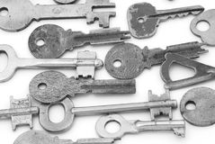 Metal keys Royalty Free Stock Image
