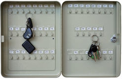 Free Metal Keys Box Royalty Free Stock Images - 56633609