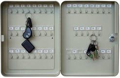Metal keys box Royalty Free Stock Images