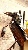 Metal kingfishers Stock Photography