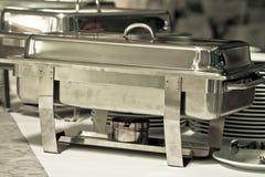 Metal kitchen equipments Stock Images