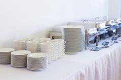 Metal kitchen equipments Royalty Free Stock Photos
