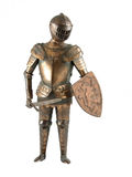 Metal knight Royalty Free Stock Image
