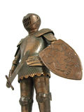 Metal knight Royalty Free Stock Images