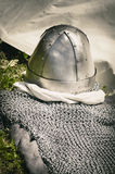 Metal Knight Hat Stock Photos