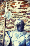 Metal knights armor Royalty Free Stock Photo