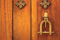 Metal knocker Stock Photography