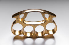 Metal Knuckle Duster Stock Image