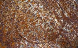 Metal korodująca tekstura zdjęcia stock