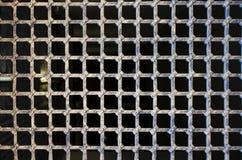 Metal kratownica obraz stock