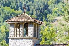Metal l'incrocio sul tetto di vecchio campanile Immagine Stock