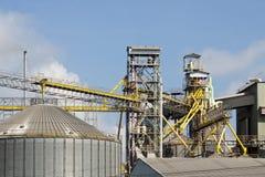 Metal l'industria del granaio di agricoltura del silo Fotografia Stock