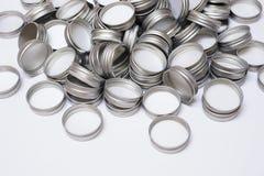 Metal la capsule Photographie stock