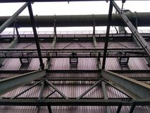 Metal la construction image libre de droits