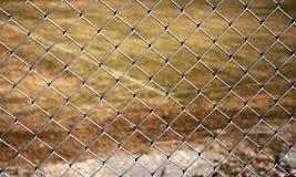 Metal la frontière de sécurité Photo libre de droits