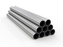 Metal la pipe Photographie stock libre de droits