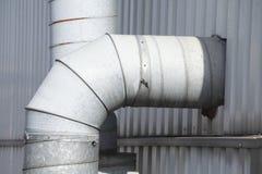 Metal la pipe Photos libres de droits