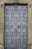 Metal la puerta Foto de archivo libre de regalías