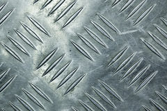 Metal la struttura del pavimento Fotografie Stock