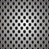 Metal la textura de los puntos Imagenes de archivo